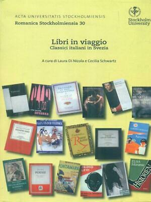 Livres en viaggio classique italiens en suède prima Édition