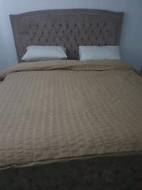 Super kingsize bed frame only, (new)