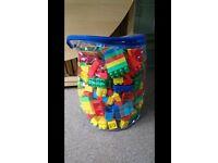 Bag of megs blocks