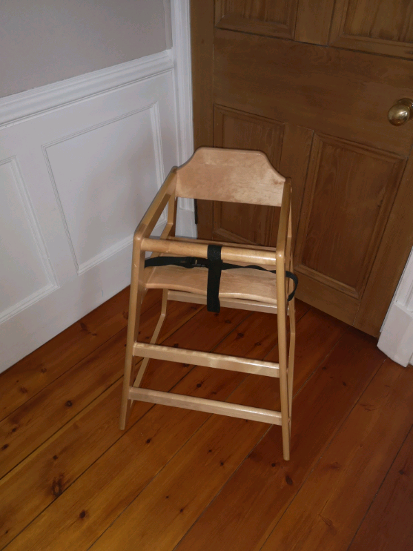 Unused Wooden High Chair In Hamilton South Lanarkshire Gumtree
