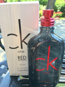 NEW CK One Red for Him LIMITED EDITION 100 ml EDT Calvin Klein