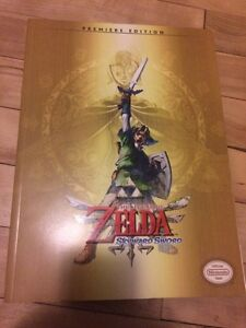 Zelda skyward sword guide BOOK new LIVRE neuf + poster