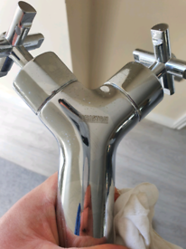 bath and bathroom sink taps