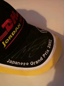 Signed Takuma Sato F1 Jordan Honda hat