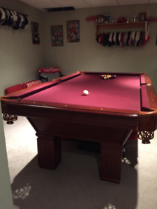 Pool Table for Sale Accessories Included