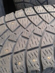 "Set of 4-LT245/75/17"" Goodyear winter tires"