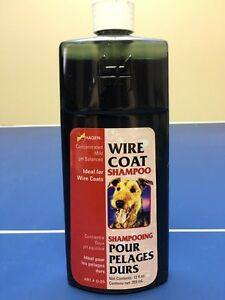 Dog Shampoo for Wire Coats / Terriers