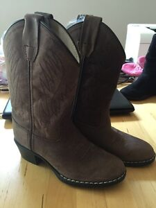 New - old west - leather cowboy boots - size 12