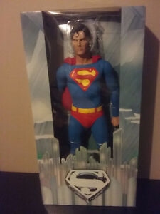 """SUPERMAN neca Christopher Reeve 18"""" inch $80.00 new"""