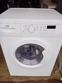 6kg 1400 spin Logik washing machine