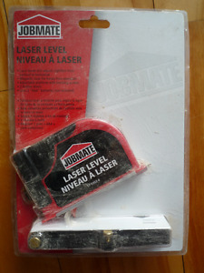"""laser level """"Jobmate"""" - in package, new"""