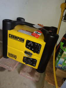 Champion Inverter generator 2000