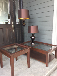 Coffee Table, End Table-Solid Wood