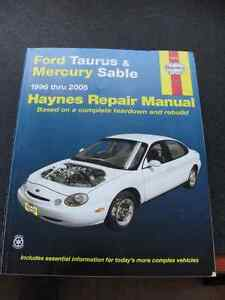 Haynes Repair Manual Ford Taurus