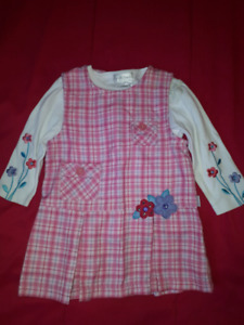 Toddler Girls Dresses Size 24mts,Absorba,Rumble Tumble