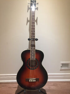 Fender T Bucket Acoustic / Electric Bass. Brand new condition.