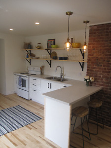 Newly renovated, one bedroom apt, 9month lease (Sept-June)