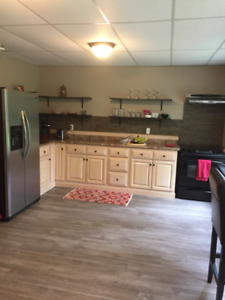 Gorgeous 2 bed river/ lake front apartment in Hubley,avail Nov 1