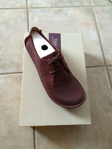 Burgundy Leather Shoes