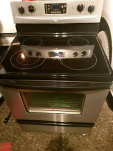 3 glass top stove for sale!!