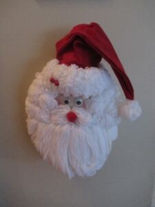 Santa Head Hanging Decoration