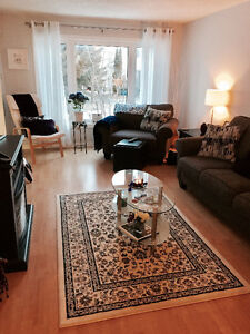 Bright very large 3bed+ finished basement in Centrepointe