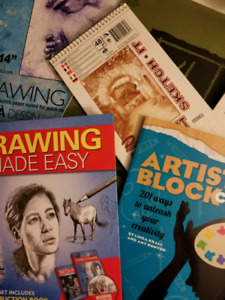 Sketch Books and Art Supplies!!!