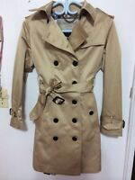 Burberry trench coat women. small