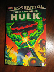 ESSENTIAL RAMPAGING HULK VOL. 1-2 MARVEL COMICS