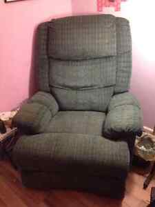 Green recliner for $20!