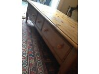 Solid Pine Ducal Wood Coffee Table