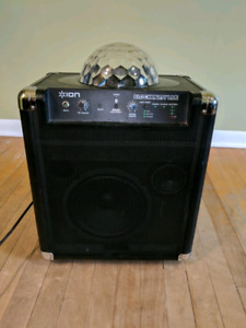 Blutooth Speaker 50W 72hour battery and Disco lights