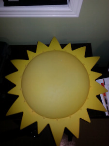 Sun light for kids room