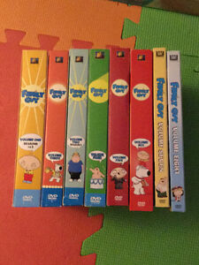 Family Guy seasons 1-8