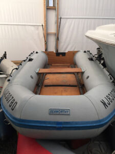 9 Foot Seaworthy hypalon Inflatable