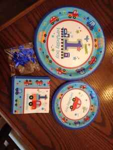 """Boys First Bday Party Decorations """" All Aboard Theme"""" Belleville Belleville Area image 1"""