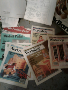 Various wood working books