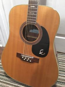 Vintage Epiphone 12-string acoustic guitar