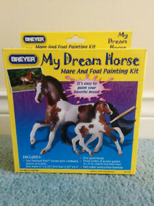Breyer My Dream Horse Mare and Foal Painting Kit, Brand new, $10