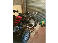 Yamaha 660 raptor for swaps for 85 or 125 + cash