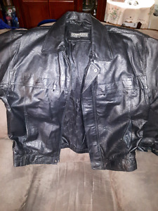 BRAND NEW PELLE CUIR LEATHER JACKET