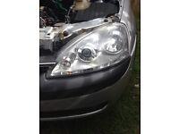 Corsa c facelift headlights