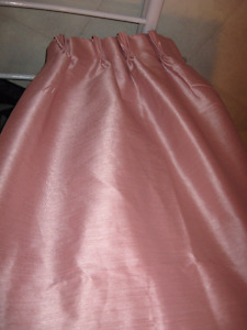 PLEATED DRAPES  -- Six Pair & Several Pair SHEERS Downsizing