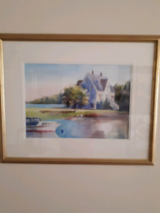 Original Local Watercolor Painting (New Condition)