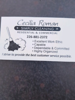 Cecilia Roman Simply Cleaning