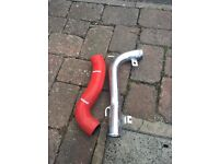 Ford 1.0 ecoboost crossover pipe and primary induction hose