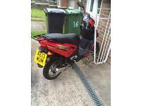 Lifan 50cc moped !