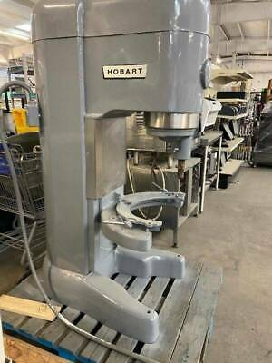 Hobart 80 Quart Mixer With 80 And 40 Quart Bowl With Attachments