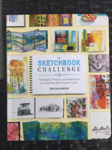 'The Sketchbook Challenge' book - like new