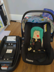 Cosatto hold car seat and isofix base
